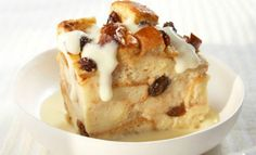 Cinnamon Raisin Bread Pudding with Vanilla Pudding Sauce   Recipe of the day   Kosher Recipes - Joy of Kosher with Jamie Geller