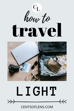 Packing light is essential for any well-seasoned traveller, and for you. Just by packing light, you can improve your whole travel experience by a significant amount. Click through to find tips on how you can travel light! #travel #packing #travellight