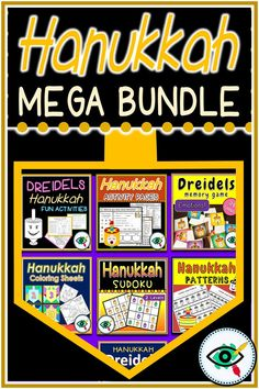 n this Mega bundle, you can find 7 fun, enrichment Hanukkah activities and games for kids in lower p Second Grade Games, First Grade Activities, Teaching Activities, Holiday Activities, Teaching Resources, Activities For Kids, Primary School, Elementary Schools, Fall Cleaning
