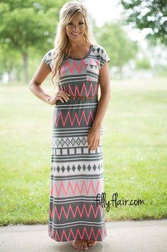 An adorable maxi dress for anyone! #modesty