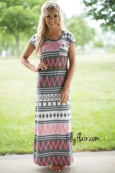 An adorable maxi dress for anyone! #modesty