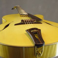 "Custom Made Blanchard 17"" Archtop Guitar by Mark Blanchard Guitars"