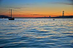 Istanbul. Sunset on the Bosphorus.   Bernardo Ricci Armani   Flickr