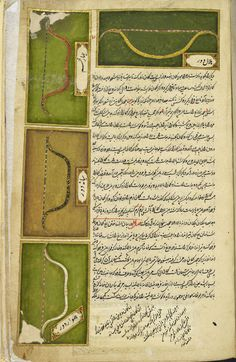 An Islamic archery manual. Photograph: The British Library Board