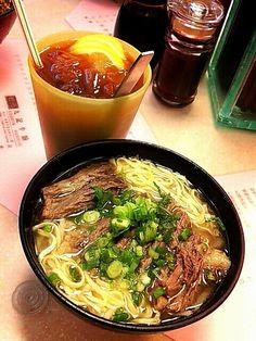 Kau Kee Restaurant - Central, #HongKong - Famous for hearty beef brisket noodles