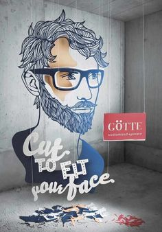 adv / Cut to fit your face: Götte Customized Eyewear