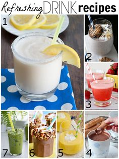 Refreshing Drink Recipe Features