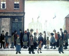 Waiting for the Shop to Open, Lowry