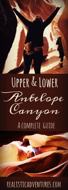 Thinking about visiting the beautiful Antelope Canyon in Page, Arizona? This guide will give you advice on which canyon you should visit (upper or lower), how to plan your trip, and what to expect on a guided Navajo tour.