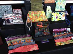 Janath Vintage Kimono Handbags and accessories at Kauai's Westin Princeville Resort, Fridays from 3-8pm