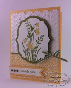 Just Believe Thank You by Cindy Hall - Cards and Paper Crafts at Splitcoaststampers