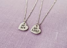 Alpha Phi Big and Little Necklaces by Katy Ryan Designs