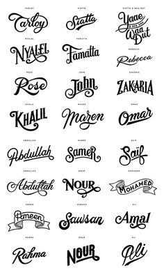 World Food Programme by Alexis Tyrsa Tattoo Name Fonts, Tattoo Lettering Fonts, Name Tattoos, Calligraphy Fonts, Typography Letters, Typography Logo, Lettering Design, Hand Lettering, Logo Design
