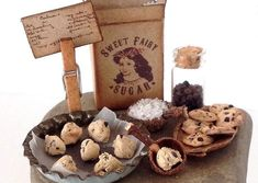 Fairy Food Chocolate Chip Cookie Prep Table by CertainlyCaroline