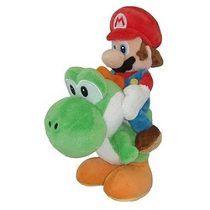 Nintendo Super Mario Bros - Peluche De Mario & Yoshi - Nuevo