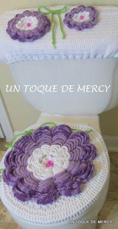 Juegos de baño en crochet