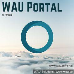 Portal for #Podio; Book Your #Free #Portal Demo @waucompany Securely Connect w/non-Podio Users  http://portal.wau.co/podio-portal-30-minute-demo/