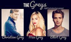 The Greys | Jamie Dornan | Christian Grey | Rita Ora | Mia Grey | Luke Grimes | Elliot Grey
