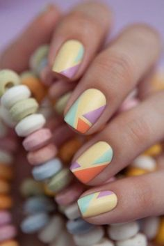 40 Easy Spring Nail Designs for Short Nails