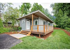 Beautiful Container House in Oregon - Living in a Container Storage Container Homes, Container House Plans, Container House Design, Small House Design, Container Van, Container Houses, Shipping Container Cabin, Shipping Container Home Designs, Shipping Containers
