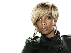 Mary J. Blige. Such a strong positive woman!!