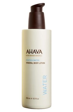 AHAVA Mineral Body Lotion       $24.00