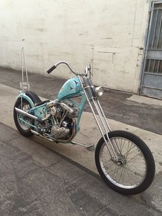Shawn's Shovelhead Chopper is For Sale
