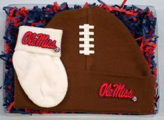 The kick is good! with our Mississippi Ole Miss Rebels Fieldgoal Gift set from Future Tailgater by DHM Kids, $16.99