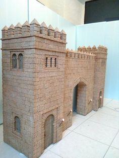 Miniature Crafts, Miniature Houses, Nativity Stable, Toy Castle, Landscape Model, 3d Modelle, Fantasy City, Wargaming Terrain, Cardboard Furniture