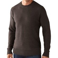 SmartWool Pagoda Sweater - Merino Wool (For Men) in Taupe Heather - Closeouts