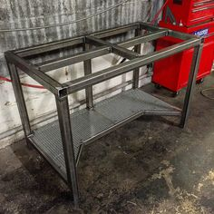 Metal Convertible Picnic Table Bench Bed Bath Beyond. Welding Tables Workbenches The Big Rack Shack In 2019 . Plasma Cutting Table Welding Projects In 2019 Welding . Welding Bench, Welding Cart, Welding Shop, Welding Jobs, Diy Welding, Metal Welding, Welding Design, Welding Flux, Metal Projects