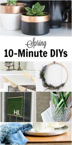 10-minute spring DIY