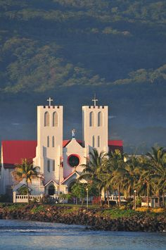 Apia, Samoa, this catholic church is my life <3