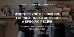 Recipes - Blog for your recipes by readyways Site Purpose ¨C Site design is for a blog with recipes Number of files PSD ¨C 20psd Used Fonts: helvetica light helvetica regular helvetica bold The photos are taken under pexels.com license CC0 Icons are taken ¨C flaticon.com Ins