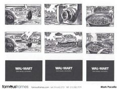 FamousFrames Storyboards, Animatic Artists, Storyboard Artists, Mark Pacella