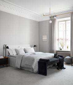 Påslakanset i tvättat linne | Ljusgrå | H&M HOME | H&M SE