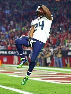 2014 12 26 Marshawn Lynch fine. That is so freaking stupid after that touchdown run I think he deserves to do whatever kind of celebration he wants to do. They are just trying to get him for whatever they can cause he barely talks to the media.