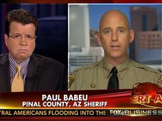 "{WATCH} Sheriff: Feds Releasing Criminals Deported 10-15 Times into AZ - On Tuesday's ""Your World with Neil Cavuto"" on the Fox News Channel, Pinal County, AZ Sheriff Paul Babeu reported that the federal government has released criminal illegal aliens into his community and that his officers have arrested individuals who have already been deported 10 or 15 times...   JUL 8, 2014"