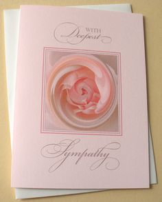 Sympathy Cards - Set of 8