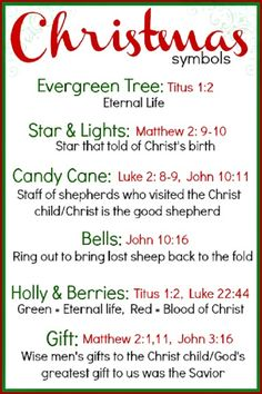 Start you family tradition with Christ in your heart. Remember the only true meaning of Christmas. Merry Christmas!