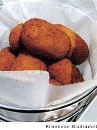 Serrano Ham and Chicken Fritters