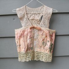 Upcycled Vintage Crop Top