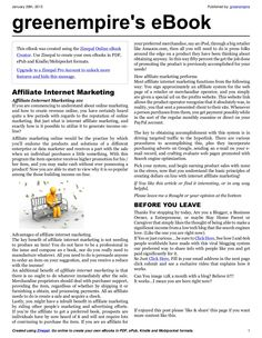 affiliate-internet-marketing-e-book-16744942 by greenempire via Slideshare