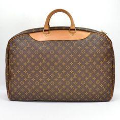 Louis Vuitton Vintage Monogram Alize Canvas Travel Luggage Bag - Accessories - Vintage | Portero Luxury