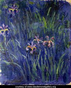 Irises3 - Claude Oscar Monet - www.claudemonetgallery.org