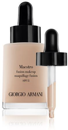 Giorgio Armani 07/22/13. This is the BEST foundation ever made - my skin looks better than it did at 25.  It gives a porcelain finish that looks airbrushed.  It covers well, yet is extremely light.  I don't even use a primer or concealer anymore. Honestly, I do not know how they do it, but it is amazing.