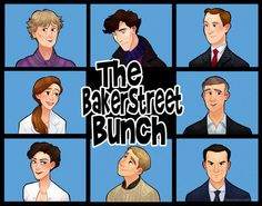 the baker street bunch:  What if…..Sherlock was a 70s sitcom. .