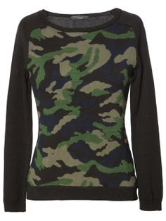 Sanctuary Clothing Camo sweater
