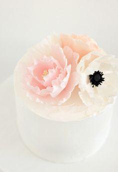 Hello Naomi  Poppy Wedding Cake