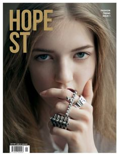 HOPE ST magazine  Issue 1  Front Cover